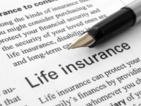 Photo of a Life Insurance Policy with a Pen